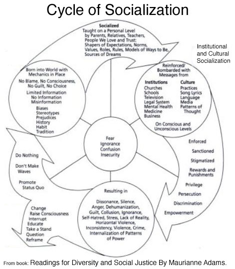 Why social problems persist. The cycle of socialization