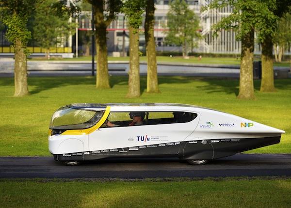 Solar-powered family car. blog post by Daniel Montano